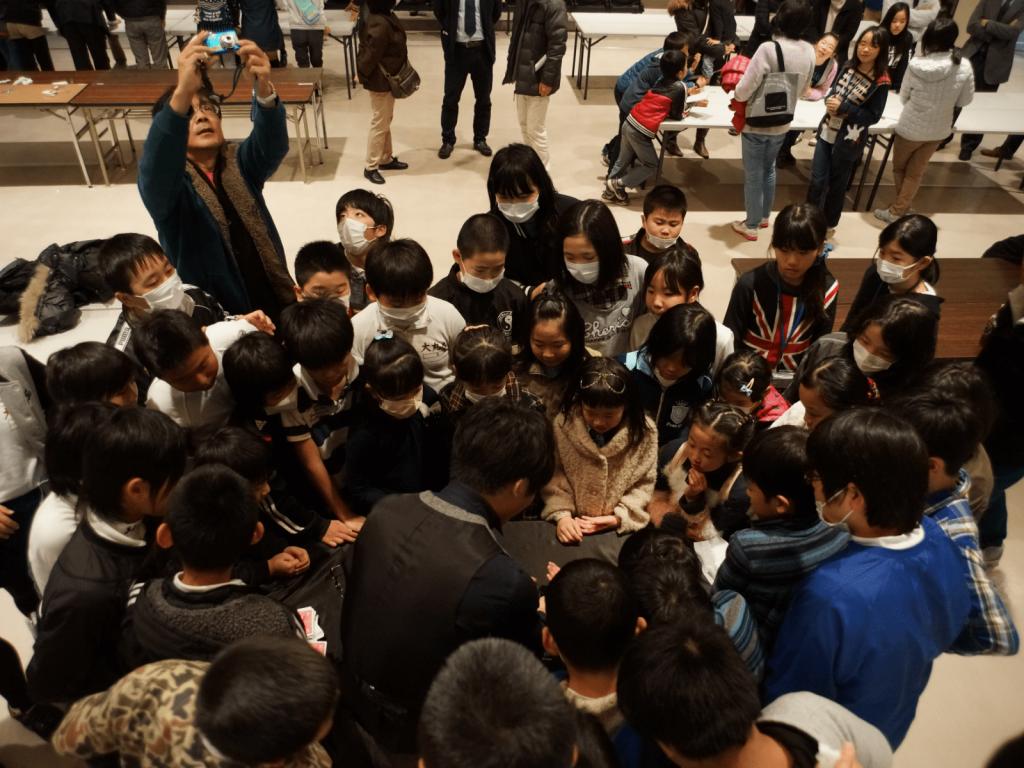 鹿児島県の大崎町の「子ども会大会」にてマジックショー&レクチャー・講演